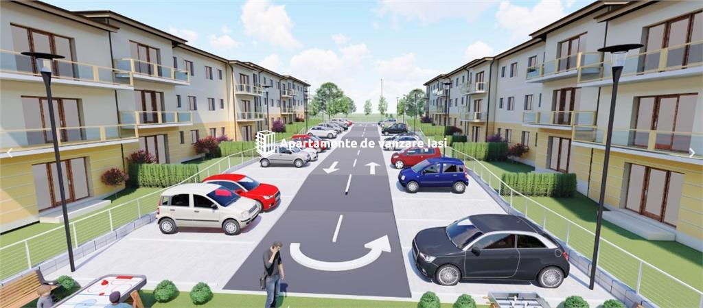 Apartament Nou 4 camere  de vanzare  Popas Pacurari