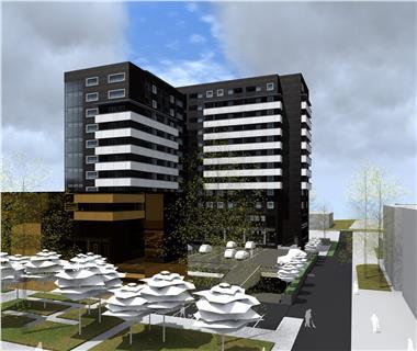 Apartament Nou 1 camere  de vanzare  Centru