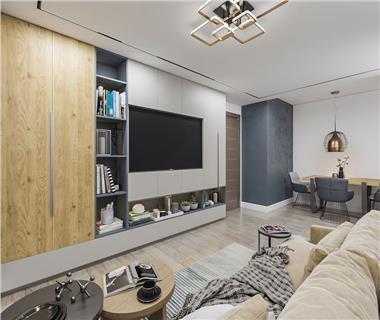 Apartament Nou 1 camere  de vanzare  Frumoasa