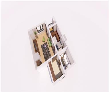 Apartament Nou 1 camere  de vanzare  Nicolina