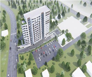 apartament nou 1 camere  de vanzare  tatarasi - metalurgie Iasi