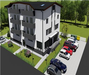 Apartament Nou 2 camere  de vanzare  Horpaz