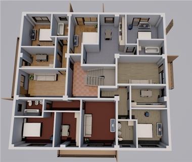 Apartament Nou 1 camere  de vanzare  Moara de Vant