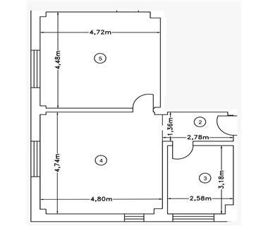 Apartament Nou 2 camere  de vanzare Iasi Tomesti
