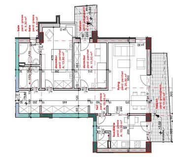 Apartament Nou 3 camere  de vanzare  Moara de Vant