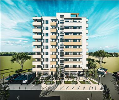 Apartament Nou 3 camere  de vanzare  Podu Ros