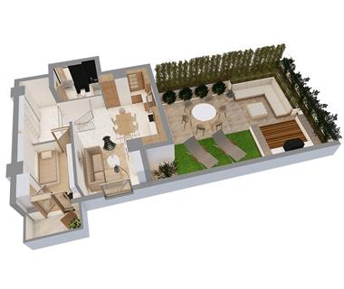 Apartament Nou 4 camere  de vanzare  Centru