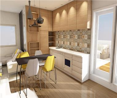 Apartament Nou 3 camere  de vanzare  Centru